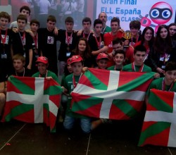 Equipos vascos en la First Lego League