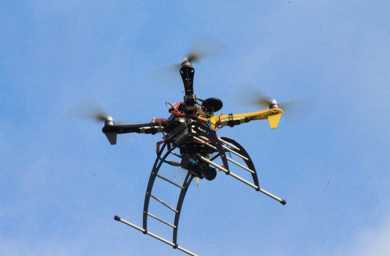 Drones industria