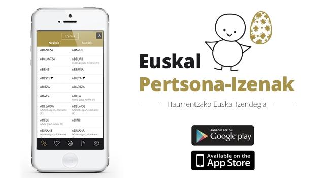 Euskal Izenak app