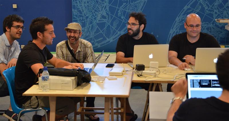 Hacksanfermin en Pamplona
