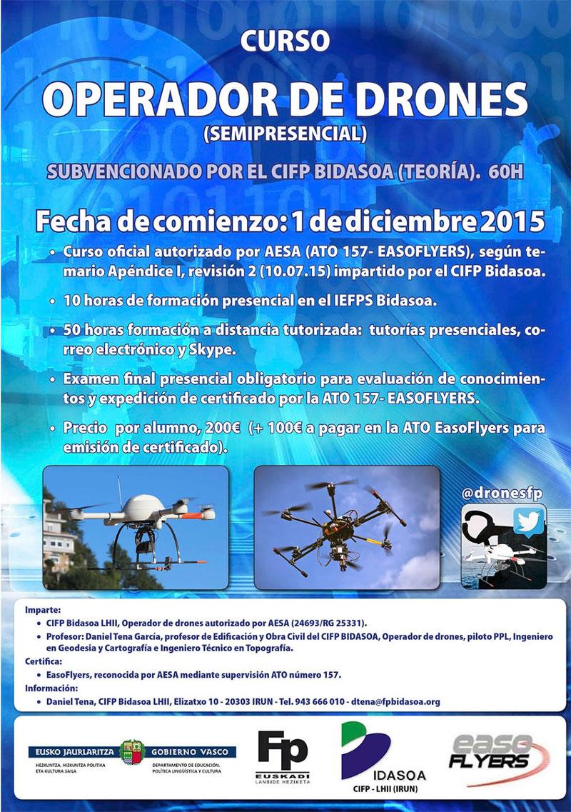 Curso drones bidasoa