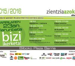 zientzia azoka 2016 Bilbao