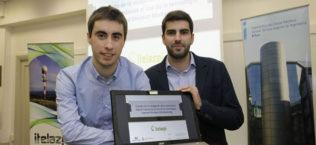 Premio Itelazpi Gorka Pujana y Asier Fernández