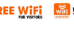 Free WiFi Euskaltel Turistas