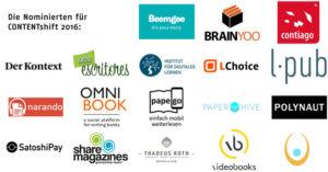CONTENTshift 2016 Entreescritores
