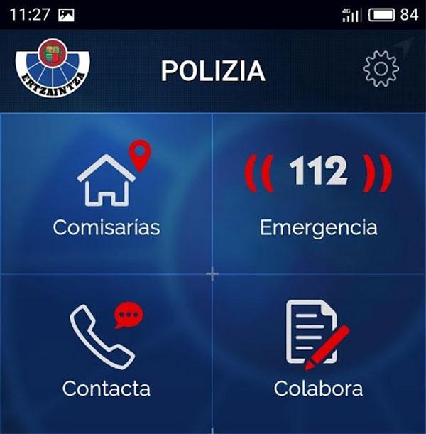 Ertzaintza app