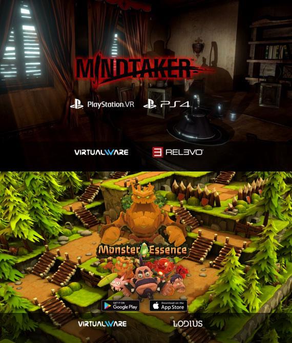 virtualware videojuegos monster mindtaker