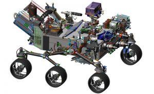 Mars 2020 NASA rover