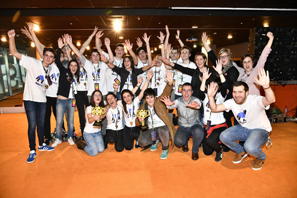 Ganadores First Lego League Euskadi