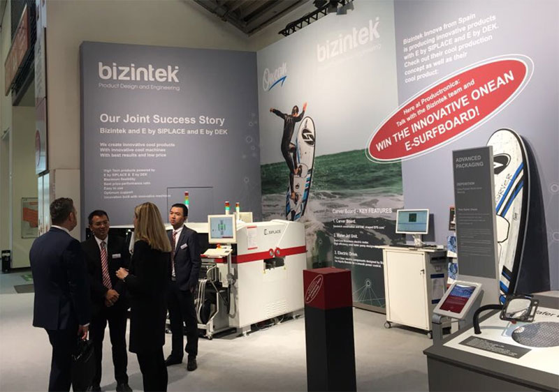Bizintek Productronica 2017